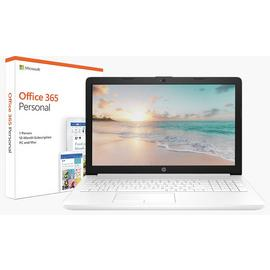 HP Stream 14 Inch A4 4GB 64GB Cloudbook - White