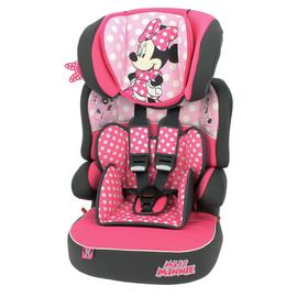 Disney Minnie Mouse Beline SP LX Group 1/2/3 Car Seat - Pink