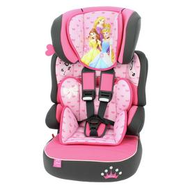 Disney Princess Beline SP LX Group 1/2/3 Car Seat - Pink