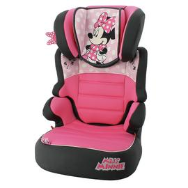 Disney Minnie Mouse Befix SP LX Group 2/3 Car Seat - Pink