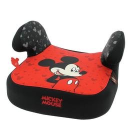 Disney Mickey Mouse Group 2/3 Booster Seat - Black and Red