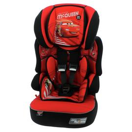 Disney Cars Beline SP LX Group 1/2/3 Car Seat -Black and Red