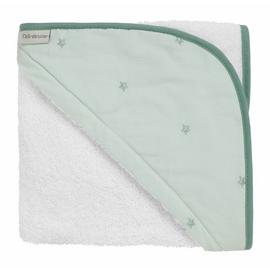 Clair de Lune Lullaby Baby Hooded Towel - Green