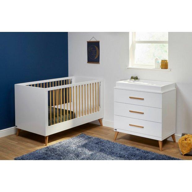 finest selection b17d6 ad913 Buy East Coast Nursery Panama Cot Bed and Dresser Room Set | Nursery  furniture sets | Argos