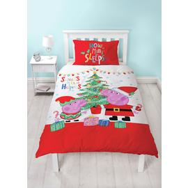 Peppa Pig Noel Bedding Set - Single