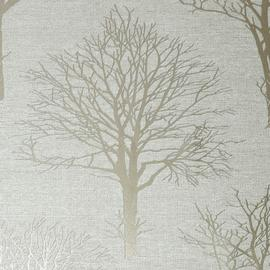 Boutique Landscape Ivory Wallpaper