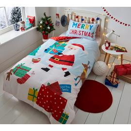 Catherine Lansfield Love from Santa Bedding Set - Single