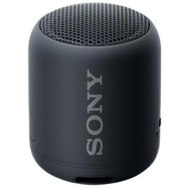 Sony SRS-XB12 Waterproof Wireless Speaker - Black