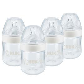 NUK Nature Sense 150ml Bottles - 4 Pack