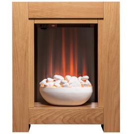 Adam Monet Electric Fire Suite - Oak