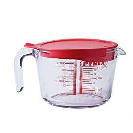 Pyrex 1L Measuring Jug with Lid