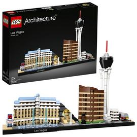 LEGO Architecture Interpretation of Las Vegas - 21047