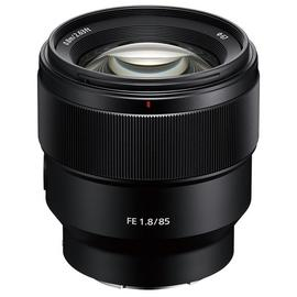 Sony SEL85F18 85mm F1.8 Mount Lens