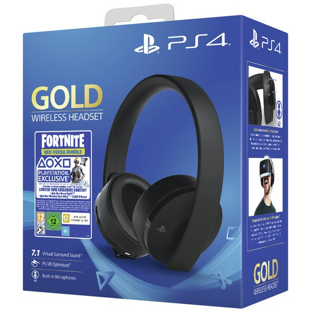 Buy Sony Gold Wireless PS4 Headset