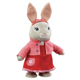 Beatrix Potter Peter Rabbit Talk and Hop Lily Soft Toy
