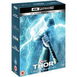 Marvel's Thor Trilogy 4K UHD Blu-Ray Box Set