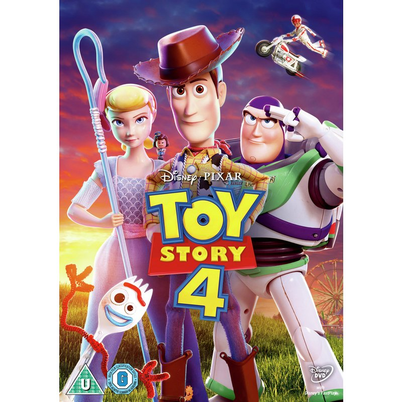 Toy Story 4 DVD from Argos