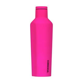 Corkcicle Neon Pink Stainless Steel Canteen - 475ml