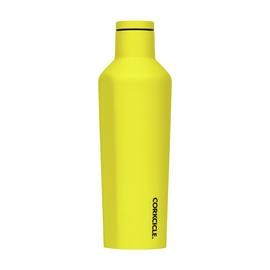 Corkcicle Neon Yellow Stainless Steel Canteen - 475ml