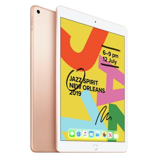 iPad 2019 7th Gen 10.2in Wi-Fi 32GB - Gold