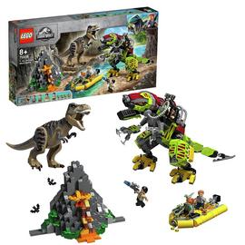 LEGO Jurassic World T. Rex vs Dino-Mech Battle Set 75938