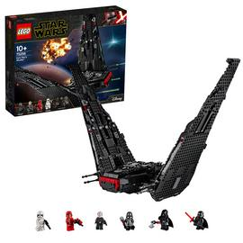 LEGO Star Wars Kylo Ren's Shuttle Building Set - 75256
