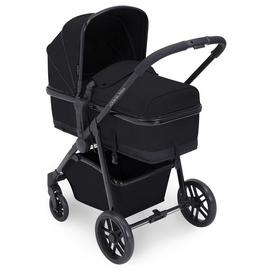Ickle Bubba Moon 2-in-1 Pushchair & Carrycot - Black