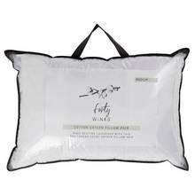Forty Winks Cotton Sateen Medium Pillow - 2 Pack