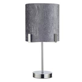 Argos Home Boutique Snake Effect Table Lamp - Grey