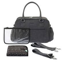 Zellie Devon Changing Bag Set - Grey