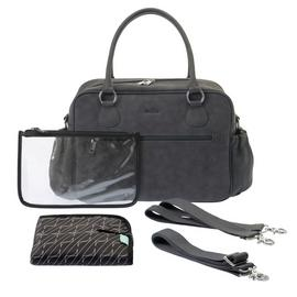 Zellie Devon Changing Bag Set - Grey