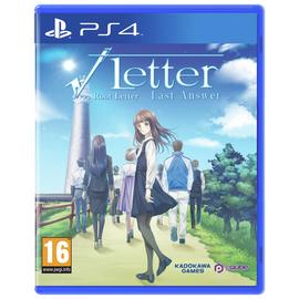 Root Letter: Last Answer Day 1 Edn PS4 Game