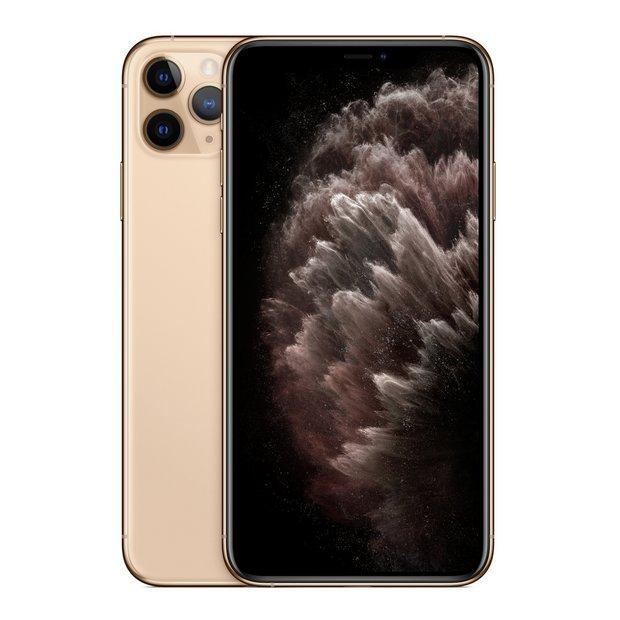 Buy SIM Free iPhone 11 Pro Max 64GB Mobile Phone Gold | SIM free phones | Argos