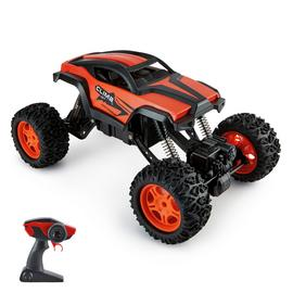 Radio Controlled Rock Crawler with Adjustable Chassis 1:12