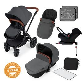 Ickle Bubba Stomp V3 ISOFIX Travel System - Graphite