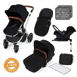 Ickle Bubba Stomp V3 ISOFIX Travel System - Black
