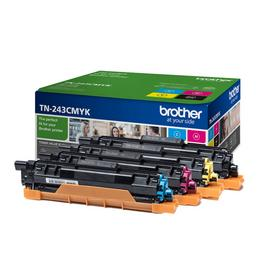 Brother TN243 Toner Cartridges - Black & Colour