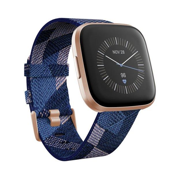 Fitbit Versa 2 SE Smart Watch - Copper Rose / Navy Band