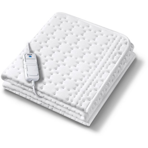 buy monogram allergyfree heated mattress cover double at. Black Bedroom Furniture Sets. Home Design Ideas