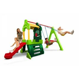 Little Tikes Clubhouse Swing Set Natural.