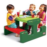more details on Little Tikes Junior Picnic Table Evergreen.