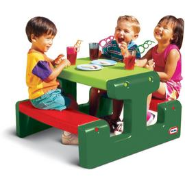 Little Tikes Junior Picnic Table Evergreen