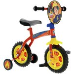 more details on Fireman Sam 2 in 1 10 Inch Training Kids Bike