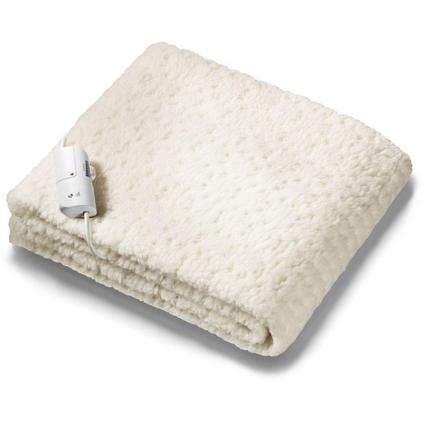 Buy Monogram Komfort Fitted Heated Blanket Double At