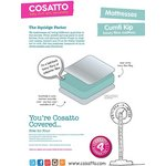 more details on Cosatto Cumfi Kip 140 x 70cm Cot Bed Mattress.