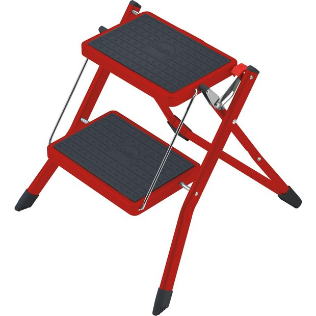 buy hailo mini k step stool red at your online shop for ladders and step stools. Black Bedroom Furniture Sets. Home Design Ideas