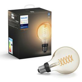 Philips Hue E27 White Smart Filament Globe with Bluetooth/t