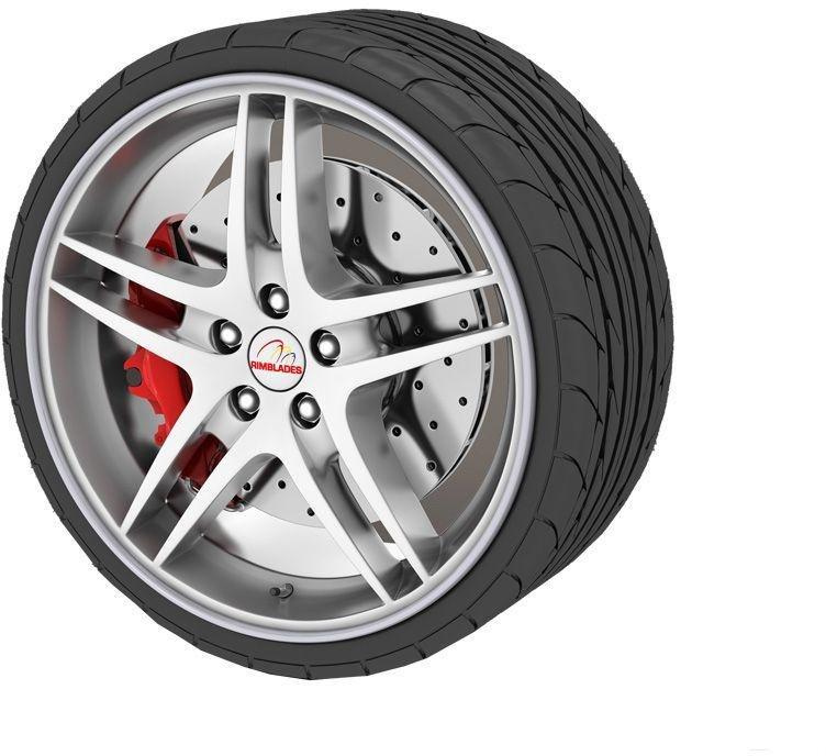 Rimblades Alloy Wheel Protectors Silver
