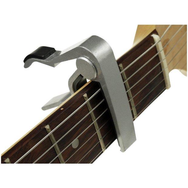 Guitar Accessories Buy Online : buy elevation chrome guitar capo at your online shop for guitar accessories ~ Vivirlamusica.com Haus und Dekorationen