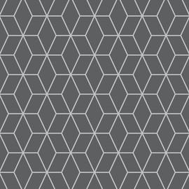 Superfresco Easy Prism Dark Grey Wallpaper